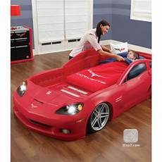 corvette toddler to bed with lights