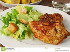 Low fat dinner stock image. Image of lunch, green, crispy