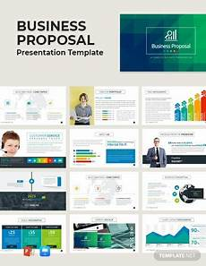 Cool Proposal Template Free Business Proposal Presentation Template Powerpoint