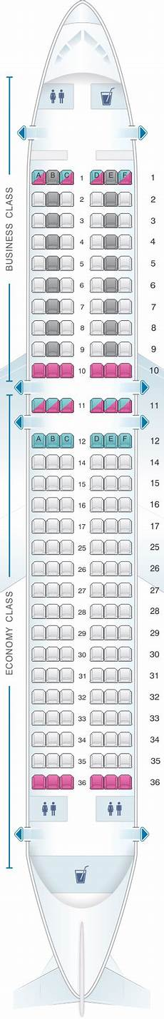 Airbus A320 214 Seating Chart Seat Map Swiss Airbus A320 214 Seatmaestro Com