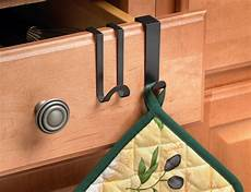 the cabinet kitchen towel hooks in the door hooks