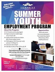 Summer Employment Summer Youth Employment Program Official Website