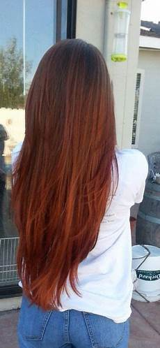 Red To Light Brown Hair Redheadshavemorefun Light Brown To Red Ombre Hair Color