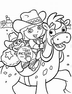 Dora Coloring Pages Dora Coloring Pages For Kids Printable Free