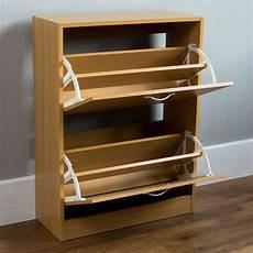 Vida Designs 2 Drawer Shoe Cabinet Cupboard Shoe Storage by Vida Designs Pine Effect 2 Drawer Shoe Cabinet Wilko