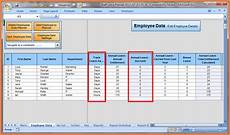 Vacation Tracking Spreadsheet 7 Sick And Vacation Spreadsheet Excel Spreadsheets Group