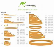 Elastic Size Chart Sizing Chart Bounce Rubber Bands 174