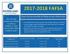 2018 Efc Chart 2017 2018 Fafsa Changes Riverland