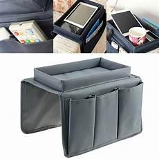 sofa recliner chair arm rest organizer pocket caddy