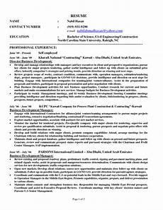 Self Employed Resume Samples Self Employed Resume Templates Resume Sample