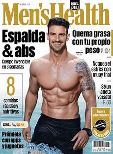 Men S Health Chart Men S Health Mexico Magazine Digital Discountmags Com