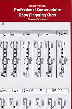 Oboe Chart Dr Downing Professional Conservatoire Oboe Chart