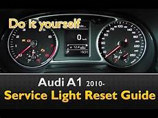 Audi A3 Oil Light Reset Audi A1 Service Light Maintenance Oil Life Reset Youtube