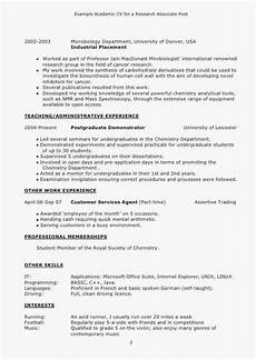 How To Write A Resume For Retail Cv Examples For Retail Jobs Uk Luxury Collection Lovely