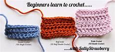 crochet for beginners sallystrawberry beginners learn to crochet the treble