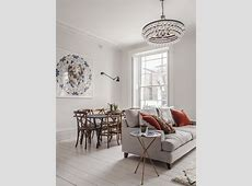 London family home refurbishment mixing the Scandinavian style and youthful eclecticism