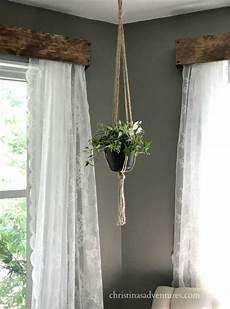 Curtain Frame Designs Diy Wood Window Valance Christinas Adventures