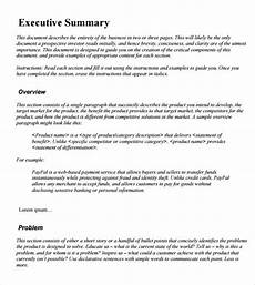 Executive Summary Report 21 Free 43 Free Executive Summary Templates Word Excel