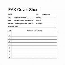 Fax Cover Sheet Blank Free 14 Sample Blank Fax Cover Sheet Templates In Pdf