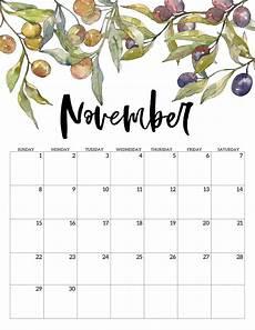 November 2020 Calendar Printable Free 2020 Free Printable Calendar Floral Paper Trail Design