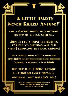 1920s Invitation Template Free Gatsby Invitation Border
