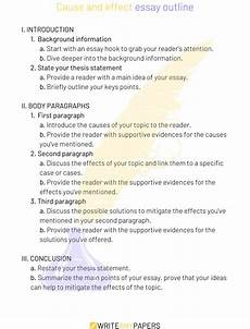 Cause And Effect Essay Format How To Write A Cause Amp Effect Essay A Complete Guide