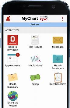 Montefiore My Chart Myhealth App Ohio State Medical Center