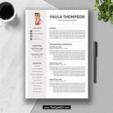 Free Downloadable Resume Templates 2020 2019 Modern Resume Template Word Cv Template Cv Sample