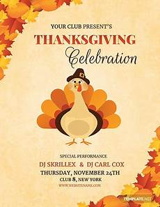 Thanksgiving Flyers Free Dj Thanksgiving Flyer Template Word Psd Apple