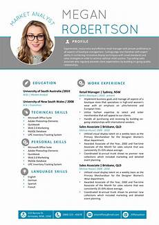 Resume Template In Word The Megan Resume Professional Word Template