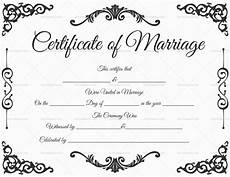 Printable Marriage Certificate Marriage Certificate Template 22 Editable For Word