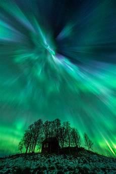 Solar Northern Lights Fast Solar Wind Causes Aurora Light Shows Nasa