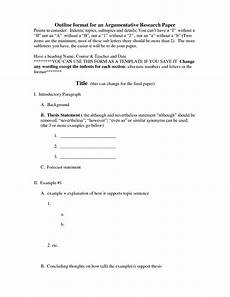 Apa Format Sample Outline 18 Best Images Of Sample Outline Worksheet Example Essay