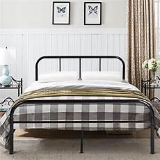 greenforest size bed frame metal mattress foundation