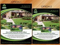 Landscaping Flyer Design 26 Elegant Playful Landscaping Flyer Designs For A
