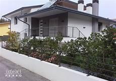 terrazzi con ringhiera recinzione e ringhiera moderna idealferro