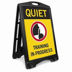 Training In Progress Sign Do Not Operate Machinery Signs Mysafetysign Com