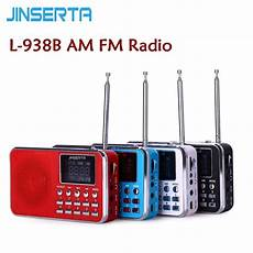 Portable Bands Digital Radio Card by Jinserta L 938b Am Dual Band Rechargeable Portable Mini