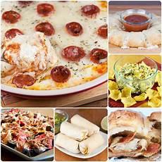 appetizers superbowl bowl appetizer ideas