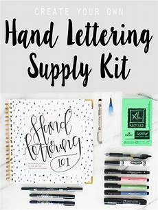Design Your Own Online Lettering Create Your Own Learn To Hand Letter Kit To Keep Or Give