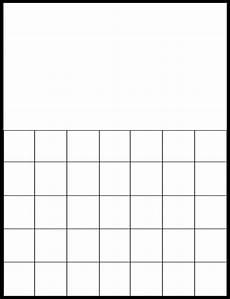 Blank Grid Template Free Printable Blank Calendar Grids Printable Blank Calendar