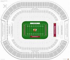 Seating Chart Az Cardinals Stadium Arizona Cardinals Seating Guide State Farm Stadium