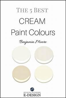 the best cream paint colours benjamin moore