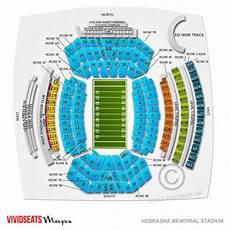 Nebraska Cornhuskers Memorial Stadium Seating Chart Nebraska Memorial Stadium Tickets Nebraska Memorial