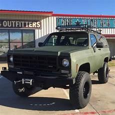 Chevy Blazer Roof Lights 1978 Blazer With Custom Bumpers Rigid Ir Led Lights And