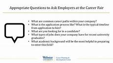 Questions For Career Fair Career Fair 2015 Preparation Guide