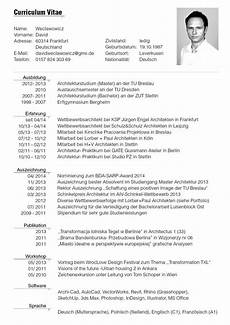 Tabular Cv Template Cv German 650 Resume Format Professional Resume