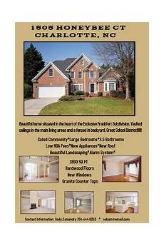 Housing Advertisements Examples Customize 1 760 Real Estate Flyer Templates Postermywall