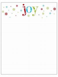 Free Printable Christmas Stationery Printable Christmas Stationery To Use For The Holidays