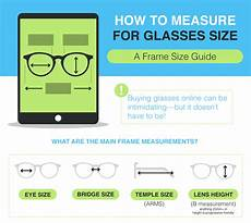Eyeglasses Measurements Chart How To Measure Your Face For Glasses